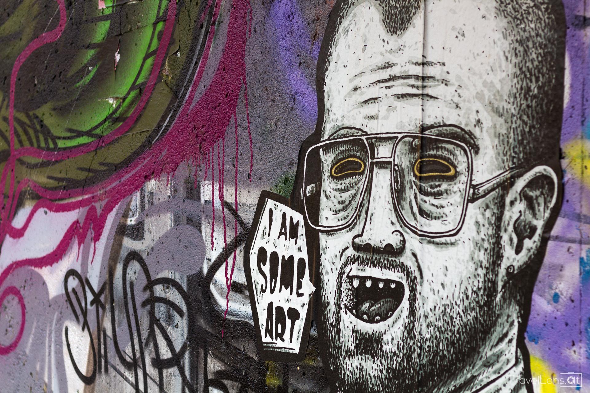 Wien Teil 2: Graffiti am Donaukanal