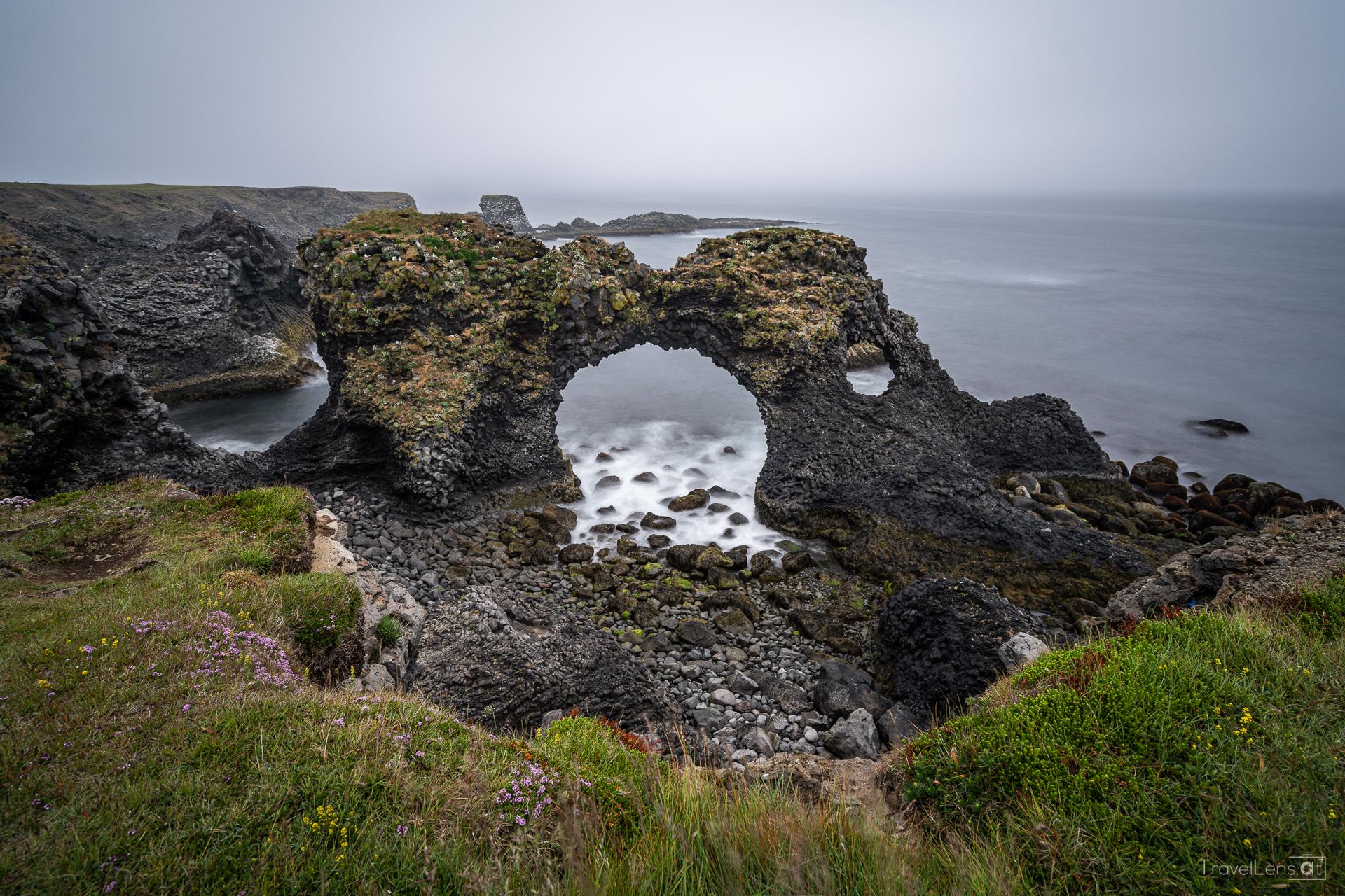 Island Tag 1 – Fahrt in den Nebel