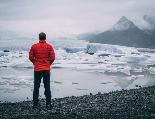 Island Tag 9 – Einsame Wasserfälle und die ersten Eisberge